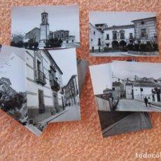 Fotografía antigua: CEHEGIN(MURCIA)PAISAJES DE LA POBLACIÓN,FOTOS DE 10´5X7´5 CM,MAGNIFICO LOTE DE 8 VISTAS DE 1961.. Lote 125955735