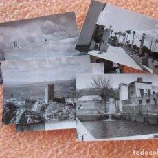 Fotografía antigua: ALHAMA(MURCIA)PAISAJES DE LA POBLACIÓN,FOTOS DE 10´5X7´5 CM,MAGNIFICO LOTE DE 12 VISTAS DE 1961.. Lote 125956195