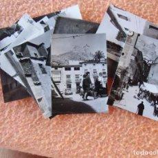 Fotografía antigua: MULA(MURCIA)PAISAJES DE LA POBLACIÓN,FOTOS DE 10´5X7´5 CM,MAGNIFICO LOTE DE 17 VISTAS DE 1961.. Lote 125956335