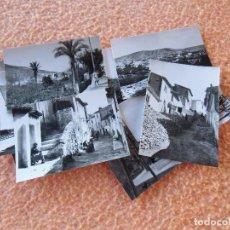 Fotografía antigua: CIEZA (MURCIA)PAISAJES DE LA POBLACIÓN,FOTOS DE 10´5X7´5 CM,MAGNIFICO LOTE DE 13 VISTAS DE 1961.. Lote 125956459