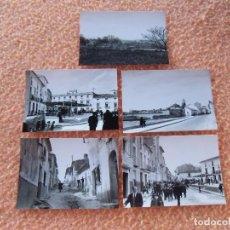 Fotografía antigua: BULLAS(MURCIA)PAISAJES DE LA POBLACIÓN,FOTOS DE 10´5X7´5 CM,MAGNIFICO LOTE DE 5 VISTAS DE 1961.. Lote 125956775
