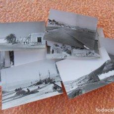 Fotografía antigua: PUERTO DE MAZARRON-MAZARRON (MURCIA)PAISAJES DE LA POBLACIÓN,MAGNIFICO LOTE DE 20 VISTAS DE 1961.. Lote 125957003