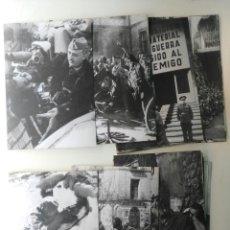 Fotografía antigua: GUERRA CIVIL ESPAÑOLA-REPORTAJE GRAFICO-26 FOTOS EN CARTULINA.. Lote 126007047