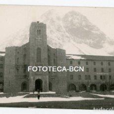 Fotografía antigua: FOTO ORIGINAL SANTUARIO DE NURIA NEVADO AÑOS 50/60. Lote 126093667
