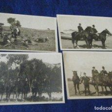 Fotografía antigua: LOTE DE FOTOGRAFÍAS DE UNA MONTERÍA. Lote 126130255