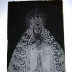 Fotografía antigua: ANTIGUO CLICHE NEGATIVO EN CRISTAL NTA SRA DE LOS DOLORES LEBRIJA SEVILLA. Lote 126211399
