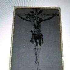 Fotografía antigua: ANTIGUO CLICHE NEGATIVO EN CRISTAL STMO CRISTO VERA CRUZ LEBRIJA SEVILLA. Lote 126212139