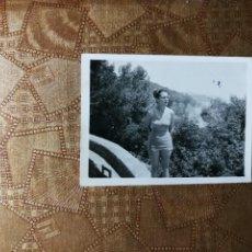Fotografía antigua: ANTIGUA FOTOGRAFÍA. PLAYA SANTA CRISTINA LLORET DE MAR. PROVINCIA DE GERONA. FOTO AÑOS 40.. Lote 126213467