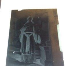 Fotografía antigua: ANTIGUO CLICHE NEGATIVO EN CRISTAL SANTA ENGRACIA ZARAGOZA. Lote 126402699