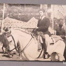 Fotografía antigua: FOTOGRAFIA FERIA ABRIL. SEVILLA. 1969. Lote 126411059