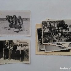 Photographie ancienne: LOTE 9 FOTOGRAFIAS DE MUJERES. Lote 126430019
