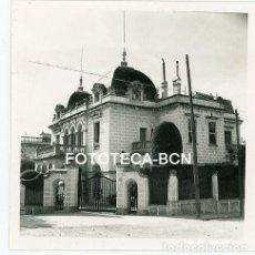 Fotografía antigua: FOTO ORIGINAL BARCELONA TORRE EN LA AVENIDA TIBIDABO AÑO 1958. Lote 126869095