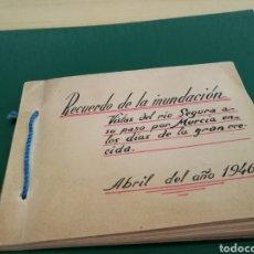 Fotografía antigua: 16 FOTOGRAFÍAS ÚNICAS DE LA INUNDACIÓN POR DESBORDAMIENTO DEL RÍO SEGURA DE MURCIA. ABRIL 1946. Lote 127112286