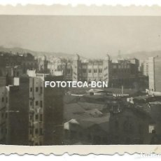 Fotografía antigua: FOTO ORIGINAL BARCELONA VISTA DE LA PLAZA DE TOROS MONUMENTAL AÑOS 40. Lote 127167603
