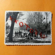 Fotografía antigua: ANTIGUA FOTOGRAFÍA. LUCO JILOCA. PROVINCIA DE TERUEL. FOTO AÑOS 40. Lote 127502107