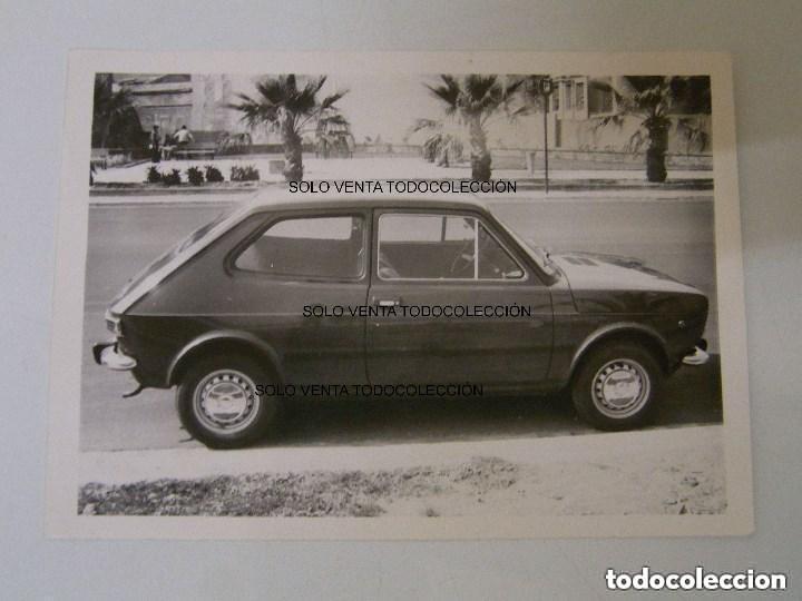 SEAT 127 DOCUMENTO FOTO COCHE ANTIGUA ORIGINAL (Fotografía Antigua - Fotomecánica)