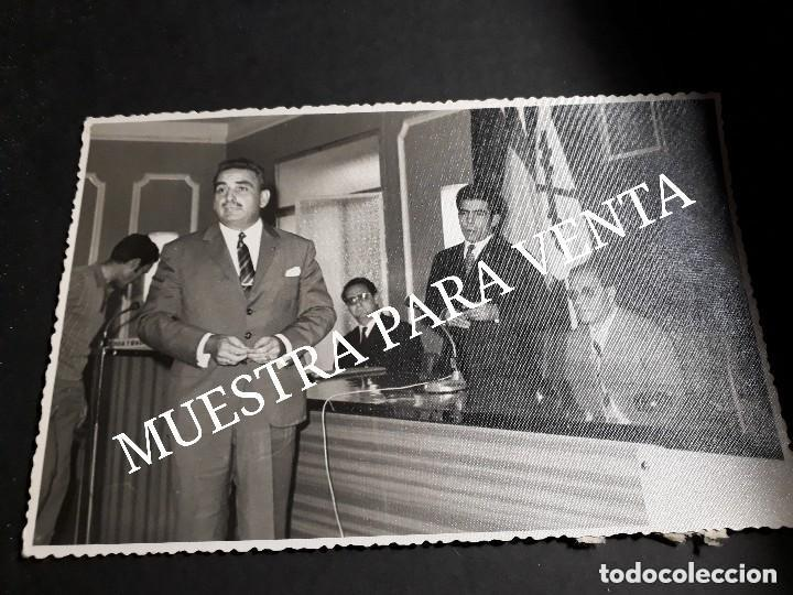 FOTO ORIGINAL FALANGE JONS REUNIÓN ALMERÍA (Fotografía Antigua - Fotomecánica)