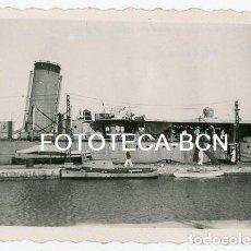 Fotografía antigua: FOTO ORIGINAL BARCO DE GUERRA DESTRUCTOR ALMIRANTE MIRANDA ANCLADO EN EL PUERTO DE MAHON AÑO 1946. Lote 128011899