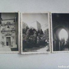 Fotografía antigua: LOTE DE 3 FOTOS ANTIGUAS DE ALMERIA , 1947.. Lote 128205523