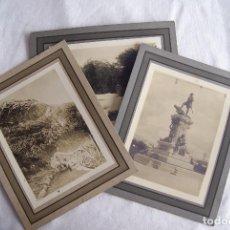 Fotografía antigua: LOTE DE 3 FOTOS ANTIGUAS TIERRA DEL FUEGO CHILE GRANDES 30 X 24 CM. Lote 128232751