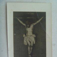 Fotografía antigua: SEMANA SANTA SEVILLA : FOTO DE CRISTO CRUCIFICADO. Lote 128730975