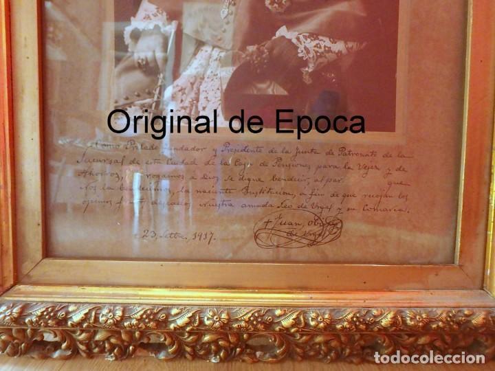 Fotografía antigua: (XJ-180757)Fotografía Obispo de la Seu de Urgel y Coprincipe de Andorra,Cardenal Benlloch,Firmada - Foto 2 - 128773635