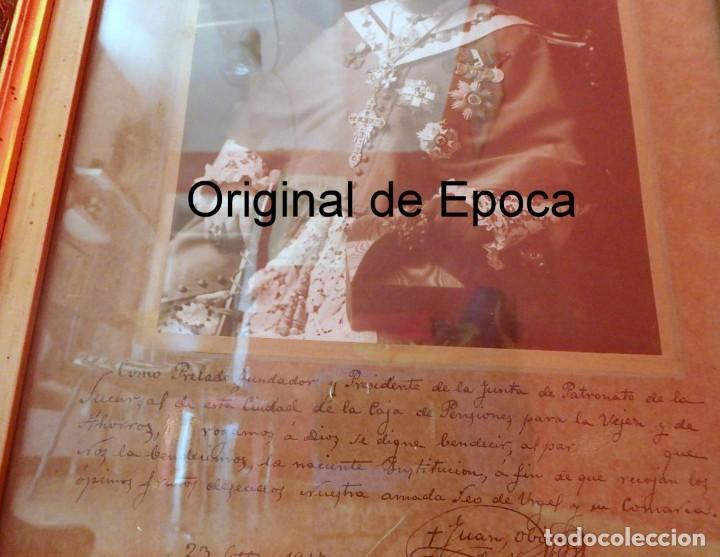 Fotografía antigua: (XJ-180757)Fotografía Obispo de la Seu de Urgel y Coprincipe de Andorra,Cardenal Benlloch,Firmada - Foto 3 - 128773635