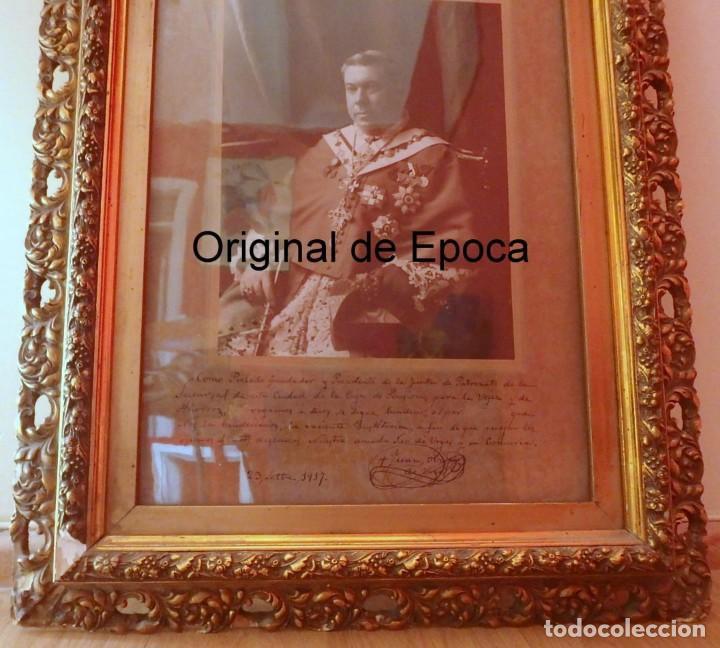 Fotografía antigua: (XJ-180757)Fotografía Obispo de la Seu de Urgel y Coprincipe de Andorra,Cardenal Benlloch,Firmada - Foto 4 - 128773635