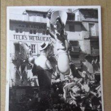 Fotografía antigua: FOTOGRAFIA - FOTO DE LA FALLA DE VALENCIA - DOCTOR COLLADO 1969 - FALLAS. Lote 129009391