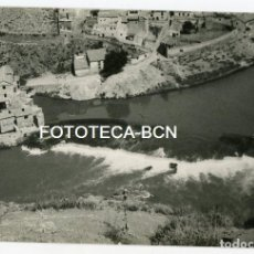 Fotografía antigua: FOTO ORIGINAL TOLEDO VISTA DEL RIO TAJO AÑOS 60. Lote 129144987