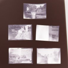 Fotografía antigua: SEGORBE, CASTELLON - 7 NEGATIVOS EN CELULOIDE - AÑOS 1940. Lote 129174983