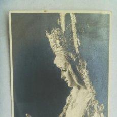 Fotografía antigua: SEMANA SANTA DE SEVILLA : FOTO DE NTRA. SRA. DE LA PALMA . DETRAS IMPRESO CALENDARIO 1967. VER.. Lote 129256615