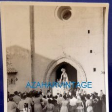 Fotografía antigua: ROTA, CADIZ, AÑOS 60, PROCESION DE LA VIRGEN DEL CARMEN, 75X105MM. Lote 129458055