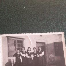 Fotografía antigua: FOTO CHICAS TRAJE REGIONAL GALLEGO. Lote 131854830
