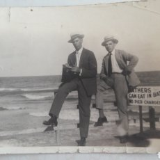 Fotografía antigua: FOTO PLAYA NEW YORK. Lote 129721332