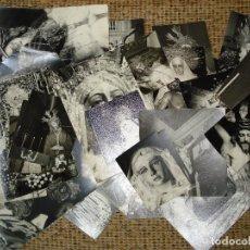 Fotografía antigua: LOTE DE 40 FOTOS DE DISTINTO TAMAÑO DE IMAGENES DE SEVILLA.. Lote 130067423