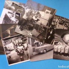 Fotografía antigua: TELEVISION ESPAÑOLA - 11 FOTOGRAFIAS, AÑOS 1950,60,70 - MANUEL FRAGA, MATIAS PRATS, ALFREDO AMESTOY. Lote 130080975