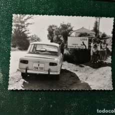 Photographie ancienne: ANTIGUA FOTOGRAFÍA. CARRETERA DESVÍO LUGO, SARRIA, CAMINO DE SANTIAGO. FOTO AÑOS 60.. Lote 130573982