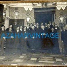 Fotografía antigua: CAMPILLOS, MALAGA, 1959, RECEPCION AL OBISPO HERRERA ORIA, FOT.ARENAS, 175X115MM. Lote 130966228
