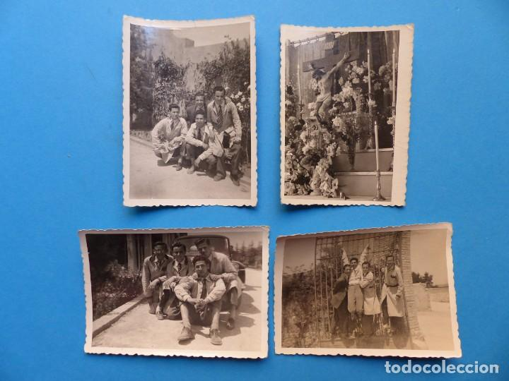 PATERNA, VALENCIA, COLEGIO LA SALLE - 4 FOTOGRAFIAS 1940-1950 - VER FOTOS ADICIONALES (Fotografía Antigua - Fotomecánica)