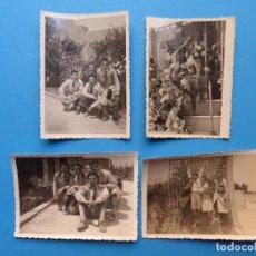 Fotografía antigua: PATERNA, VALENCIA, COLEGIO LA SALLE - 4 FOTOGRAFIAS 1940-1950 - VER FOTOS ADICIONALES. Lote 131413086