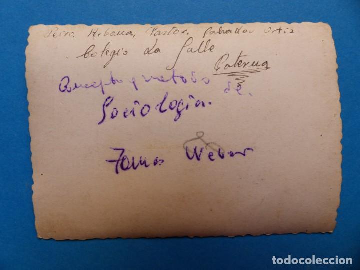 Fotografía antigua: PATERNA, VALENCIA, COLEGIO LA SALLE - 4 FOTOGRAFIAS 1940-1950 - VER FOTOS ADICIONALES - Foto 9 - 131413086