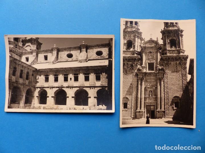MONASTERIO DE SOBRADO DE LOS MONJES, LA CORUÑA - 2 FOTOGRAFIAS - AÑO 1957 - VER FOTOS ADICIONALES (Fotografía Antigua - Fotomecánica)