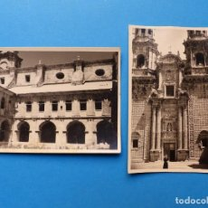 Fotografía antigua: MONASTERIO DE SOBRADO DE LOS MONJES, LA CORUÑA - 2 FOTOGRAFIAS - AÑO 1957 - VER FOTOS ADICIONALES. Lote 131416354