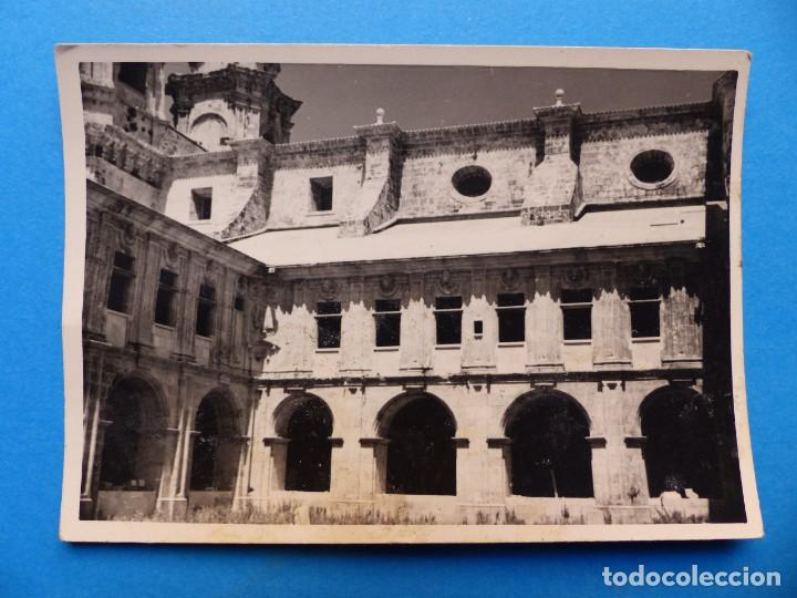 Fotografía antigua: MONASTERIO DE SOBRADO DE LOS MONJES, LA CORUÑA - 2 FOTOGRAFIAS - AÑO 1957 - VER FOTOS ADICIONALES - Foto 2 - 131416354