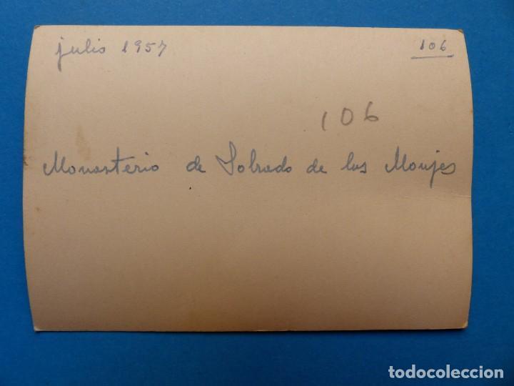 Fotografía antigua: MONASTERIO DE SOBRADO DE LOS MONJES, LA CORUÑA - 2 FOTOGRAFIAS - AÑO 1957 - VER FOTOS ADICIONALES - Foto 3 - 131416354