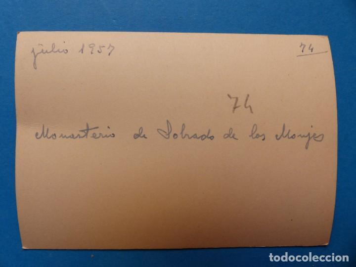 Fotografía antigua: MONASTERIO DE SOBRADO DE LOS MONJES, LA CORUÑA - 2 FOTOGRAFIAS - AÑO 1957 - VER FOTOS ADICIONALES - Foto 5 - 131416354