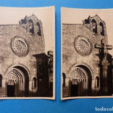 Fotografía antigua: BETANZOS, LA CORUÑA, IGLESIA - 2 FOTOGRAFIAS - AÑO 1957 - VER FOTOS ADICIONALES. Lote 131417054