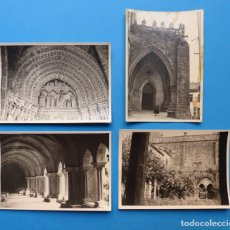 Fotografía antigua: TUY, PONTEVEDRA, CATEDRAL - 4 FOTOGRAFIAS - AÑO 1957 - VER FOTOS ADICIONALES. Lote 131417602