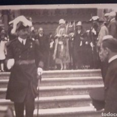 Fotografía antigua: ANTIGUA FOTO ALFONSO XIII Y VICTORIA EUGENIA. Lote 131653143